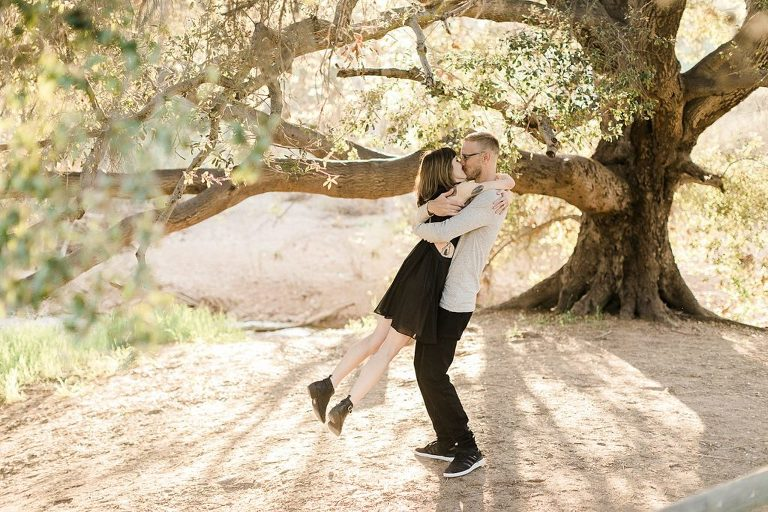 Mission Trails is a great San Diego Elopement Location