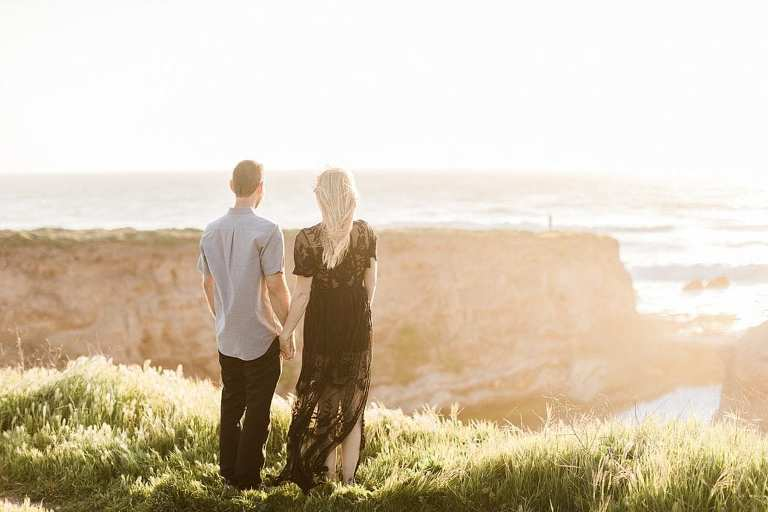 Absolute best place to elope in California is Montana De Oro because it's so peaceful and beautiful