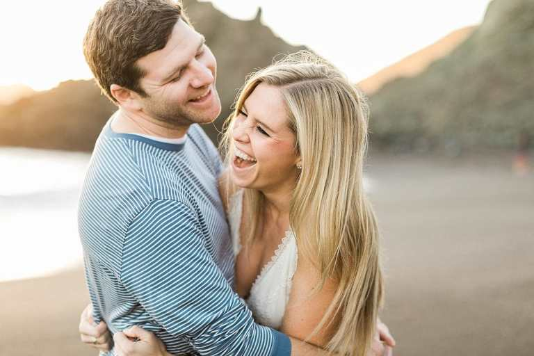 Black Sands Beach elopement location in San Francisco